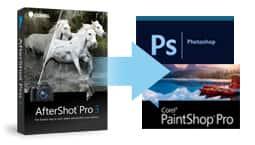 Fácil integración con editores de fotos.