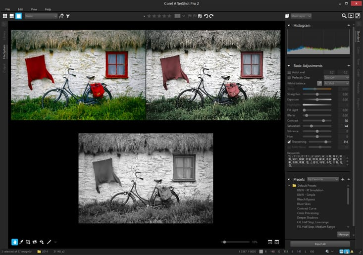 raw converter raw photo editing software corel aftershot pro 3