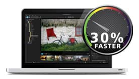 30% Faster RAW Processing